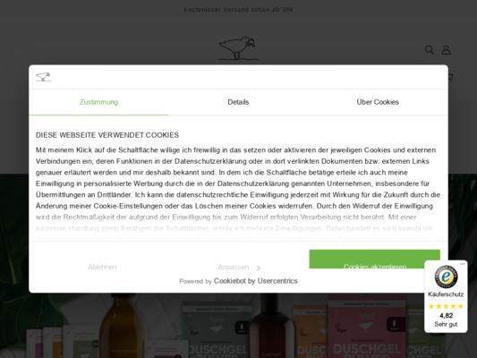 Sause – Die Seifenbrause Website