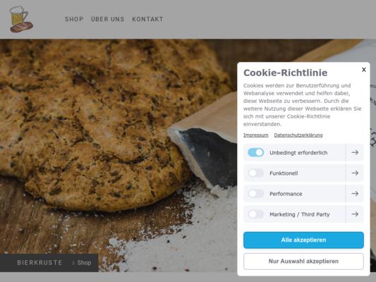 Bierkruste Website