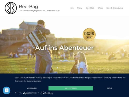 BeerBag Website