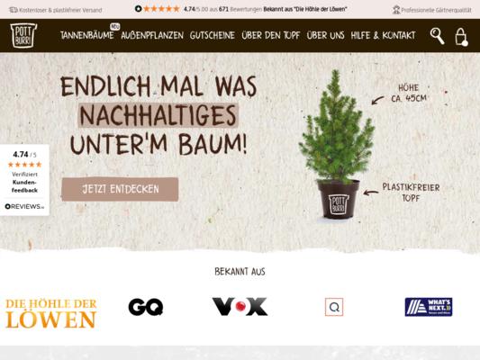 POTTBURRI Website