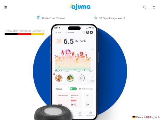 ajuma Website