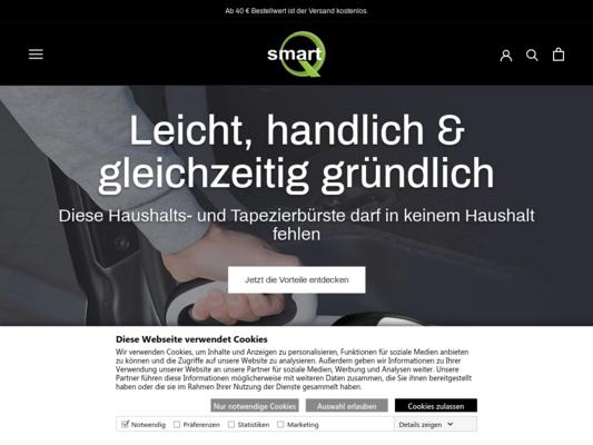 smartQ Website