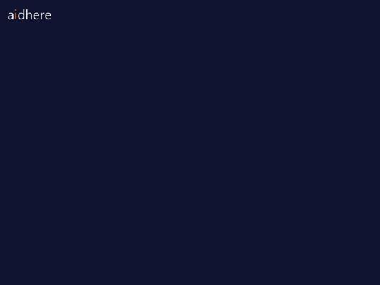aidhere Website