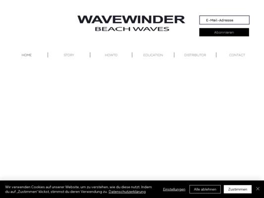 Wavewinder Website