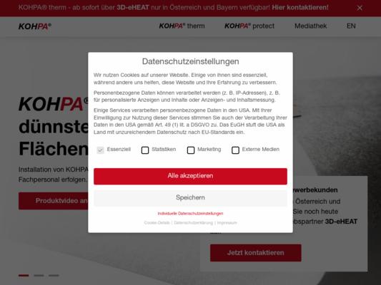 KOHPA Website