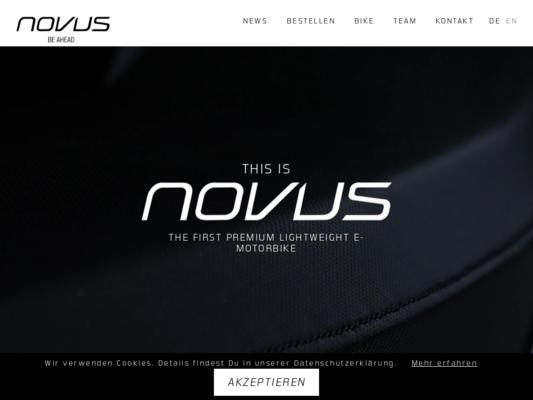 NOVUS Website