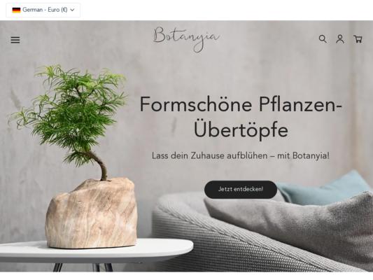 Botanyia Website