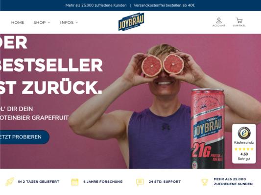 JoyBräu Website