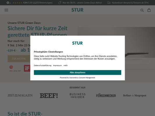 STUR Website