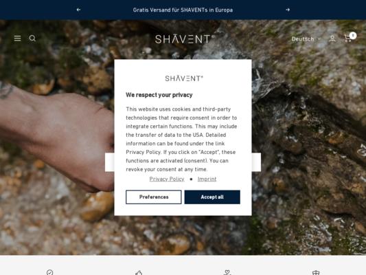 SHAVENT Website