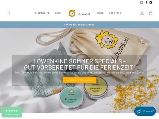 Löwenkind Website